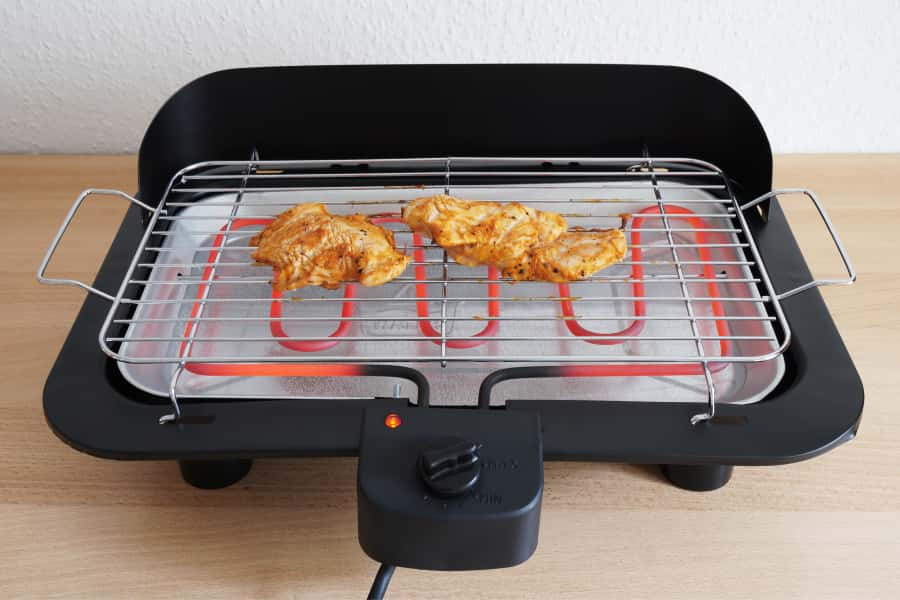features of electric barbecue grill