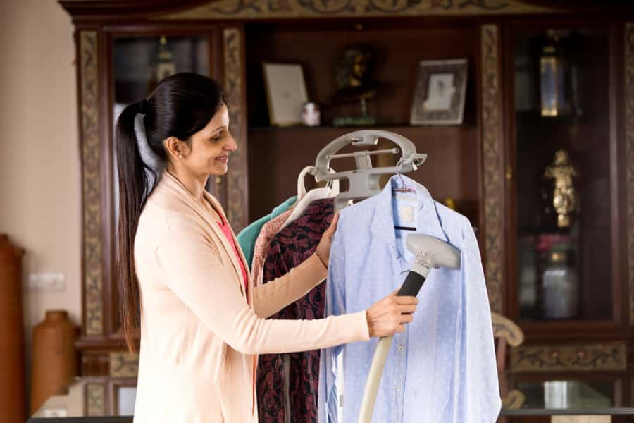 garment steamer benefits