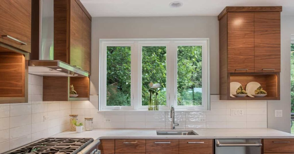 how to hide chimney pipe in kitchen