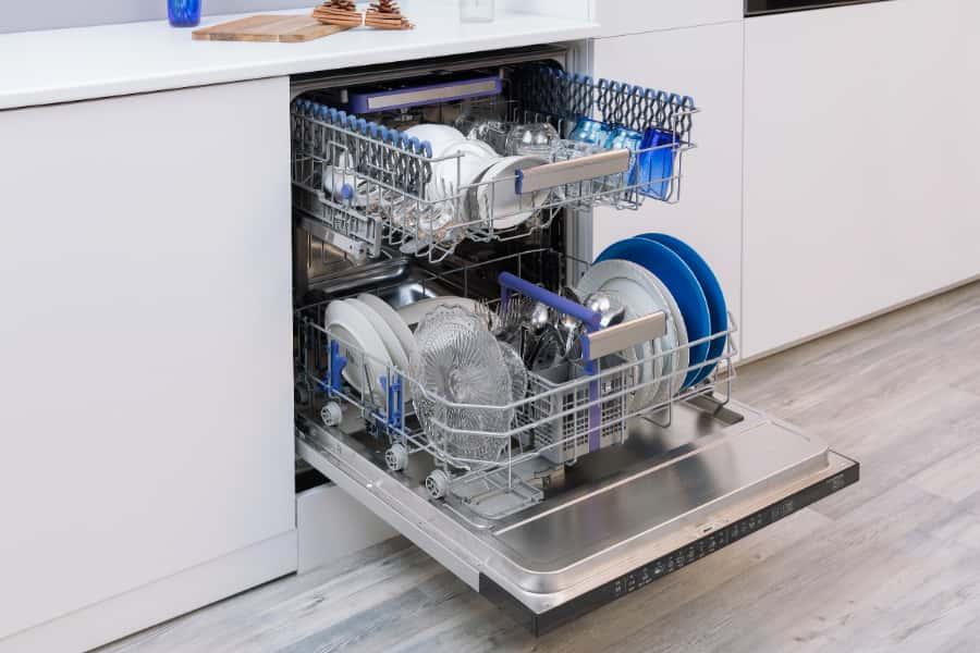 wash programs of dishwasher