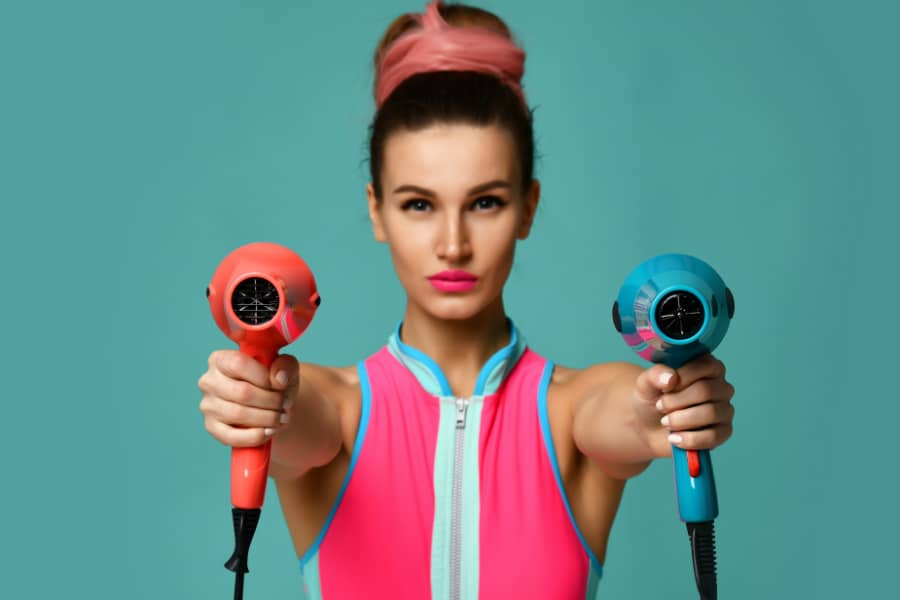 best wattage for hair dryer
