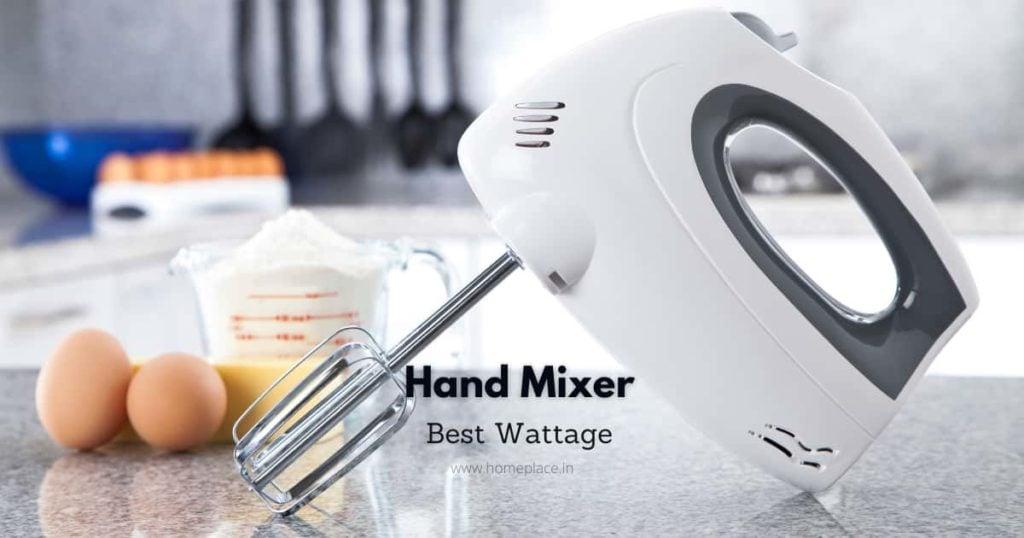 best wattage for hand mixer