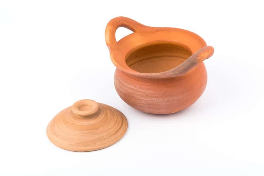 cookware made of clay