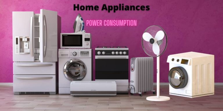 Appliances that use most electricity