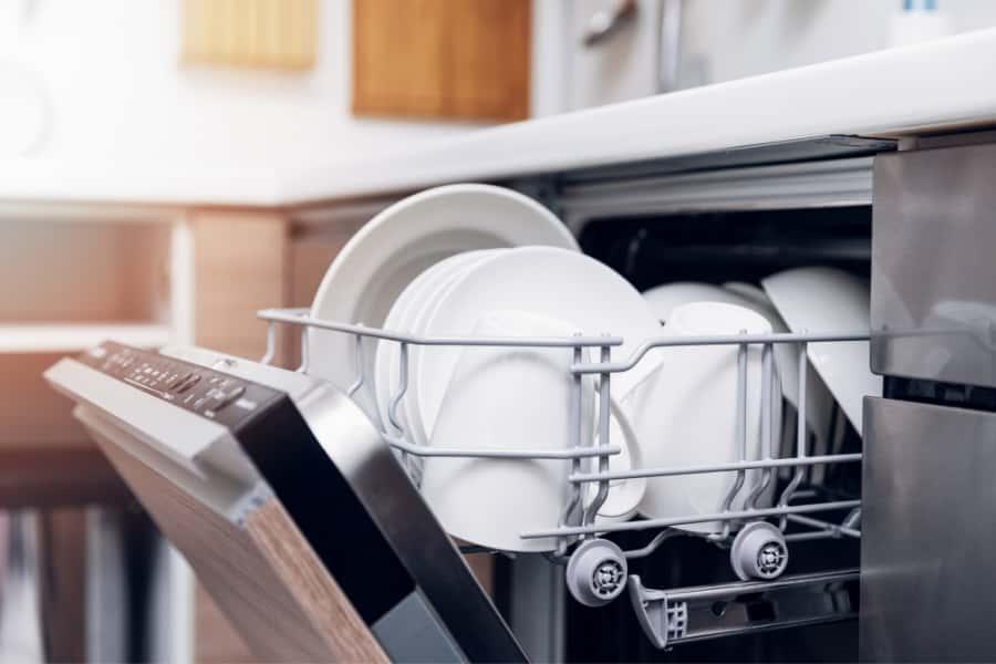 a dishwasher