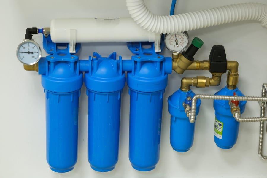 benefits of hiding water purifier in kitchen