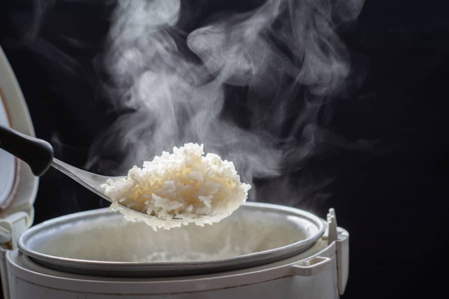 fix undercooked rice on electric pressure cooker