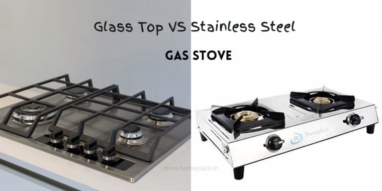 glass top vs stainless steel gas stove