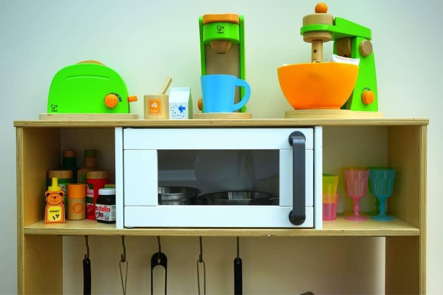 microwave oven organizer
