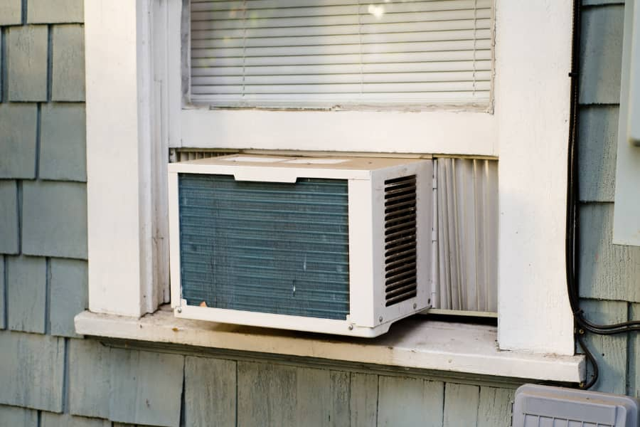 window AC at home