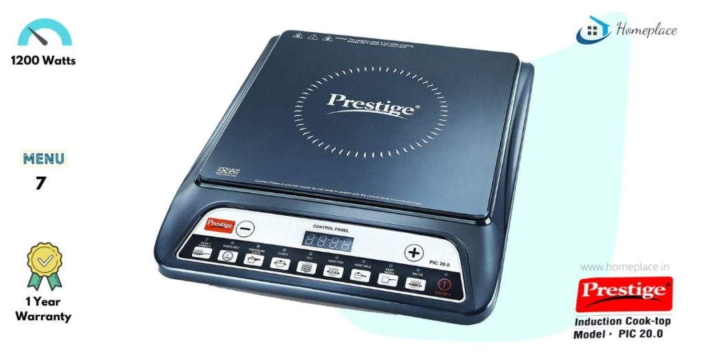 Prestige PIC 20 Induction Cooktop review