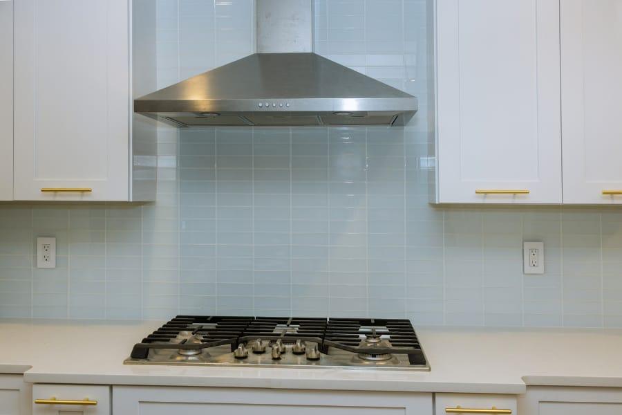 auto clean chimney in kitchen