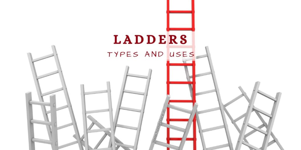 different types of ladders and uses