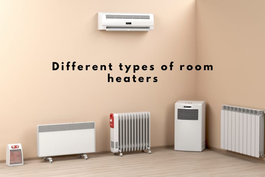 different types of room heaters