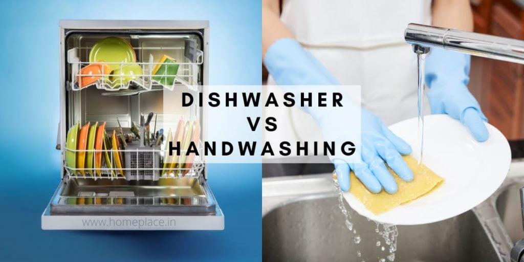 dishwasher vs handwashing
