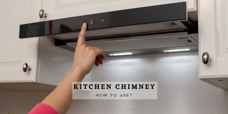 how to use kitchen chimney
