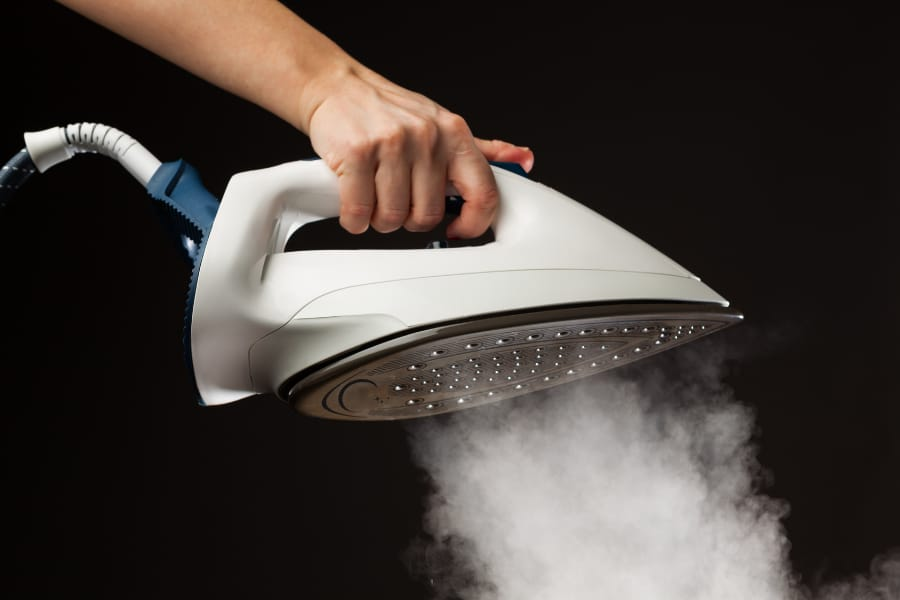 prevent scaling on steam iron