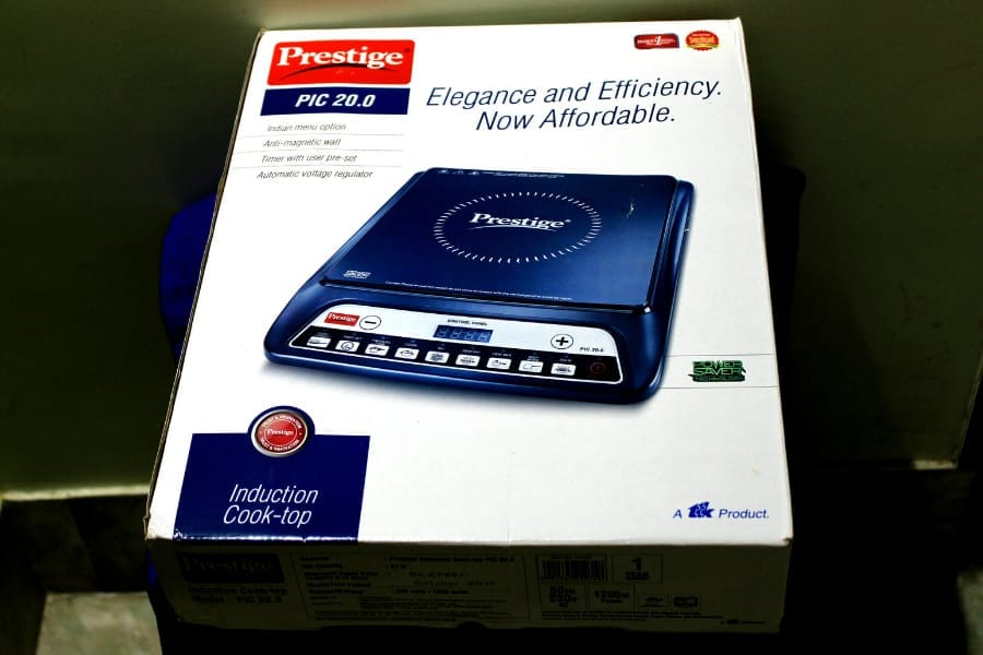 unboxing Prestige PIC 20 Induction Cooktop