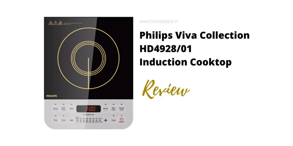 Philips Viva Collection HD492801 induction cooktop review