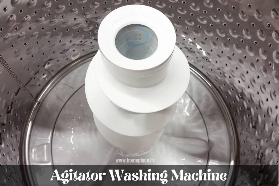 agitator washing machine