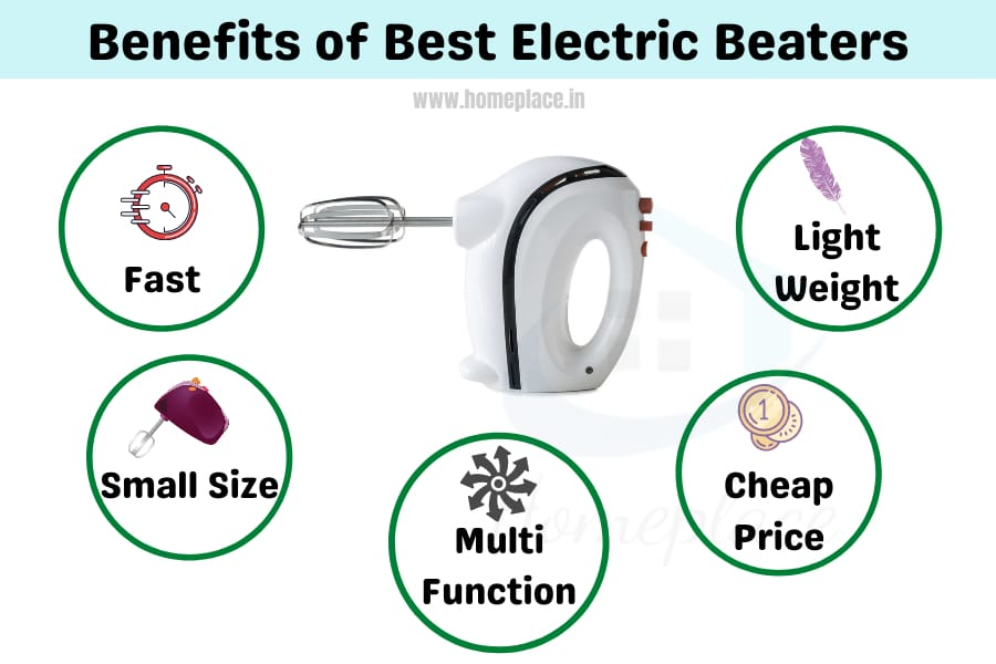 benefits of best electric beaters in India