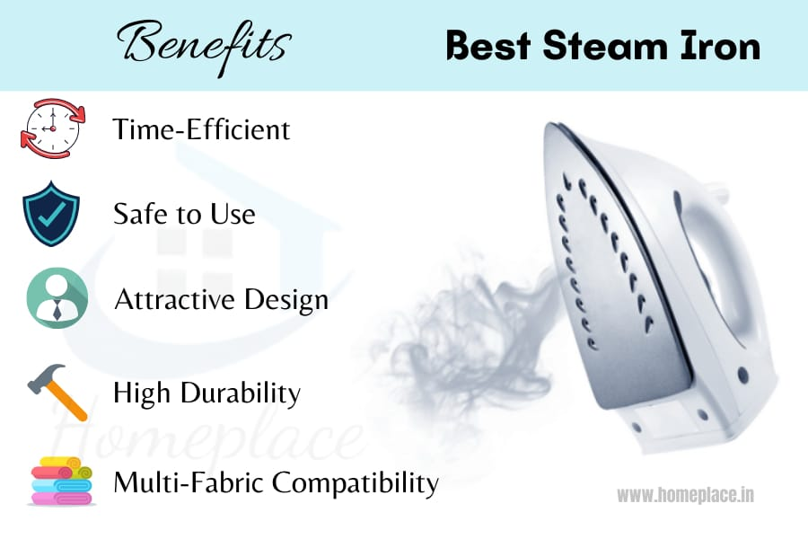 benefits of the best steam iron in India