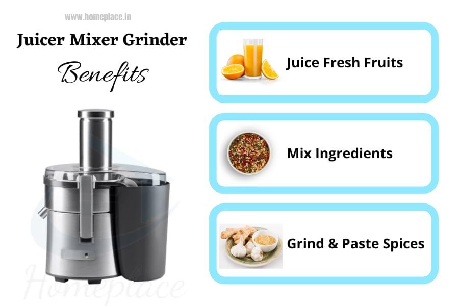 best juicer mixer grinder benefits