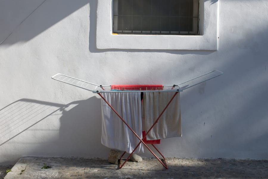 a cloth drying stand