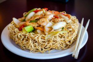 crispy fried noodles