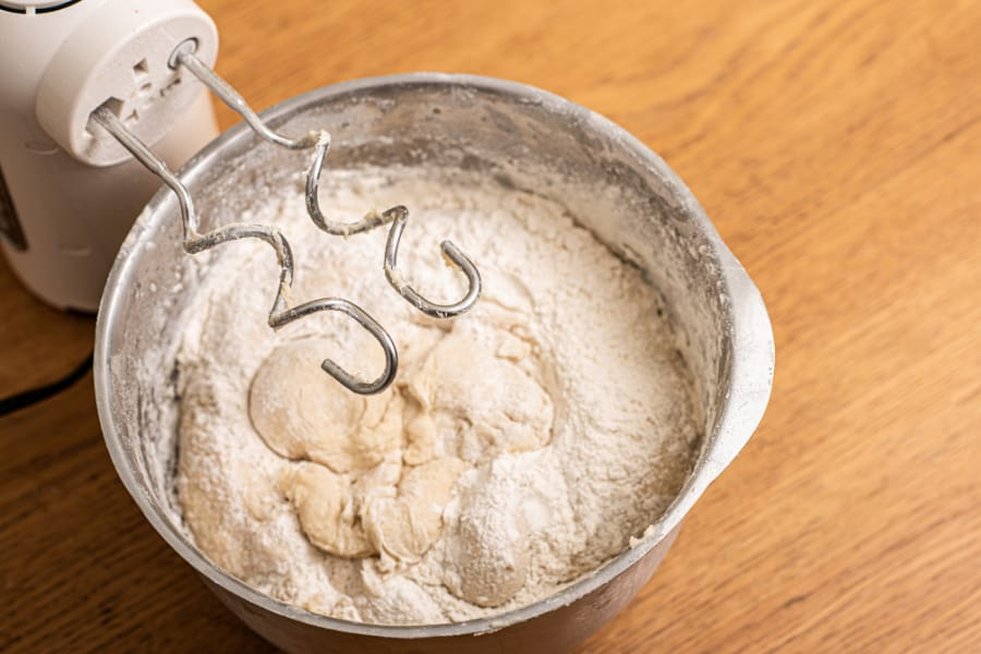 dough hook beater for hand mixer