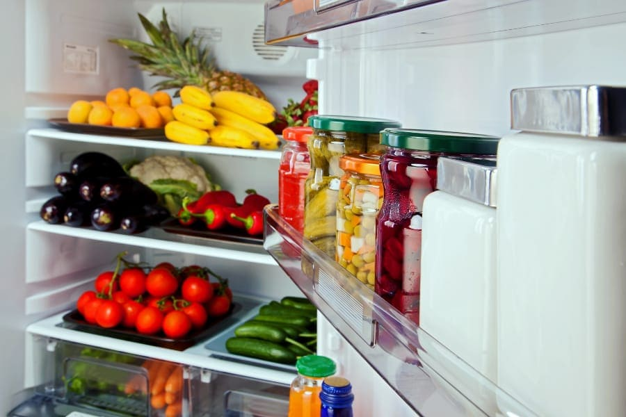 fresh food in the best refrigerator in India