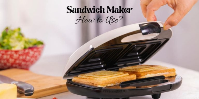how to use a sandwich maker