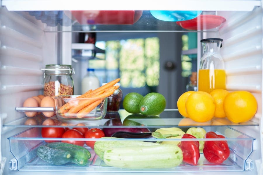 smart fridge operation