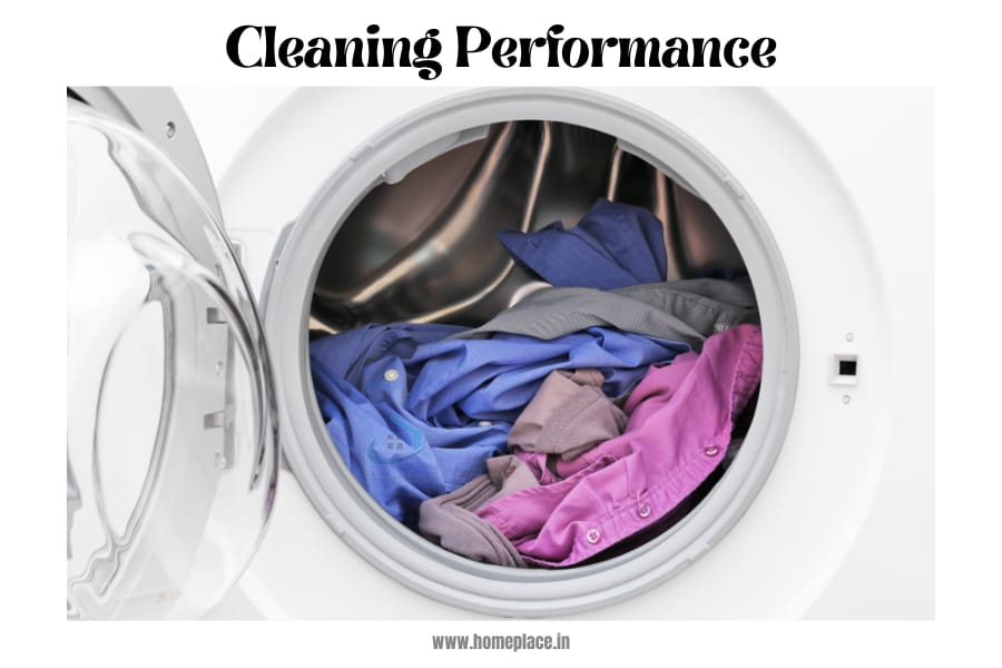 top load vs front load cleaning performance