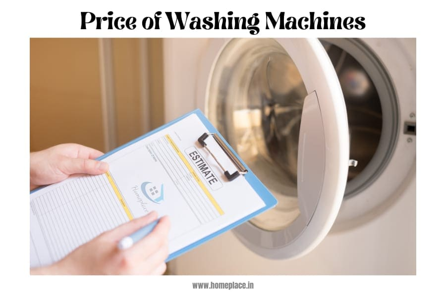 top load vs front load washing machine price
