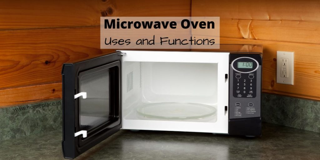 types and functions of a microwave oven