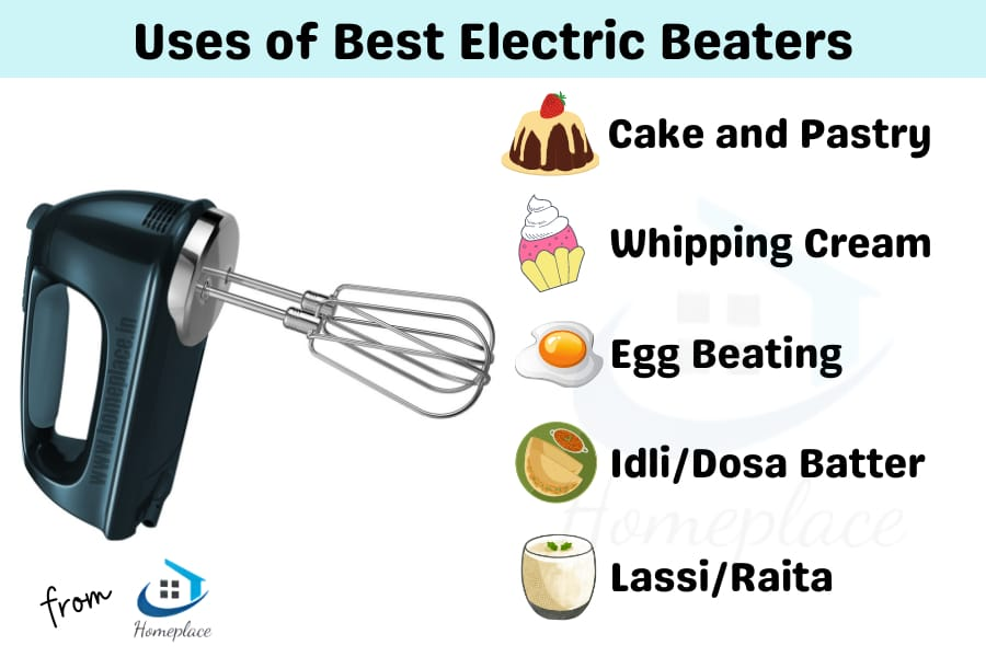 uses of best electric beaters in India