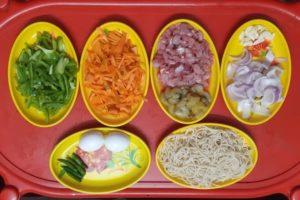 vegetables for crispy noodles