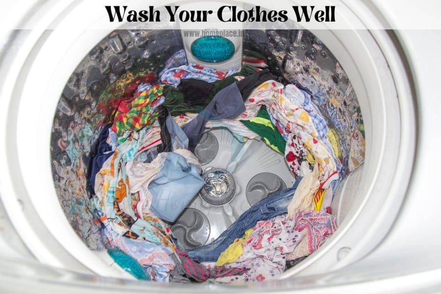 wash your clothes well with semi automatic washing machine