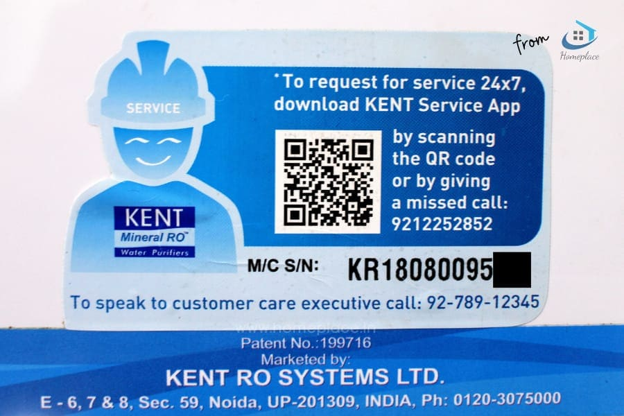 Warranty and Customer Service of Kent
