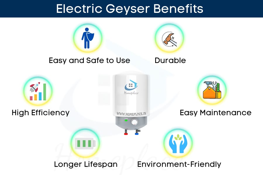 benefits of electric geysers