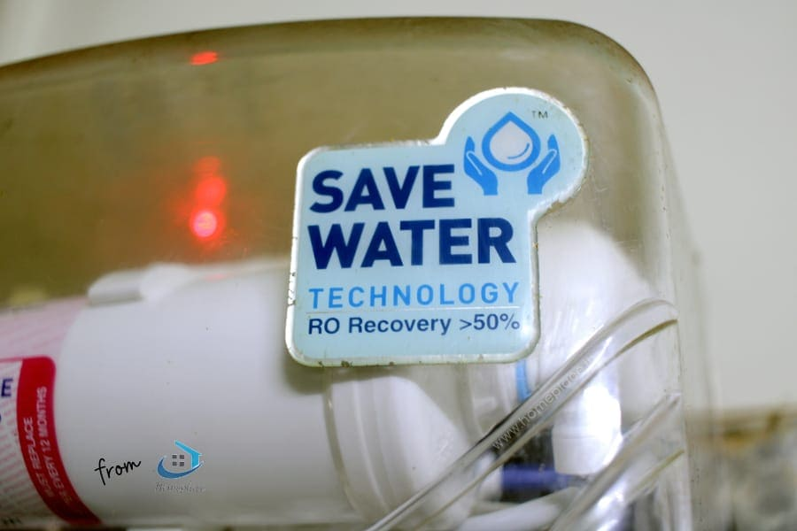 Kent water purifiers recover more than 50% of water