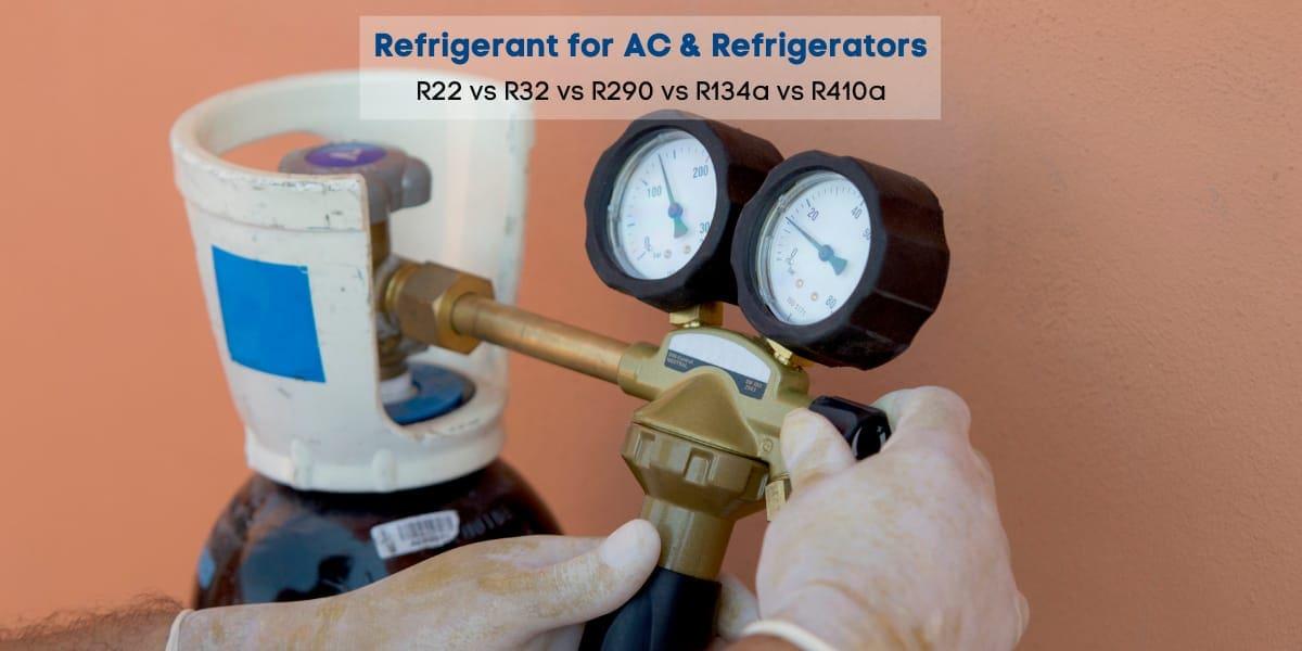 refrigerant for ac and refrigerator