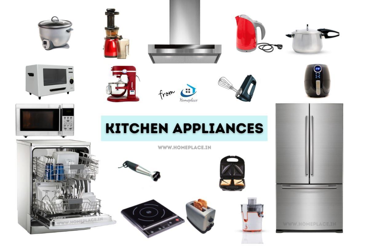 smart and basic kitchen appliances list
