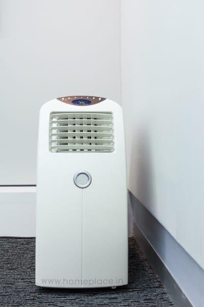 ventilation process of portable AC