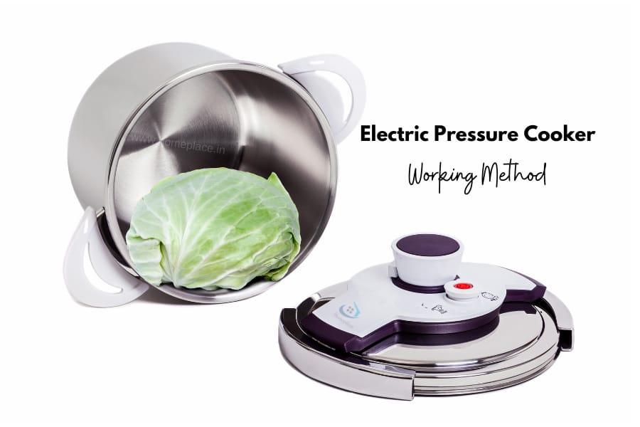 working method of electric pressure cooker