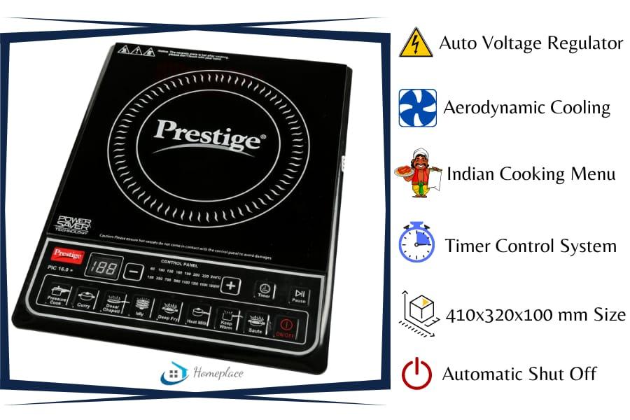 Prestige PIC 16.0 1900 watt Induction Cooktop