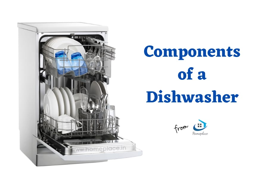 components of a dishwasher