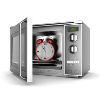 preheating in convection microwave oven