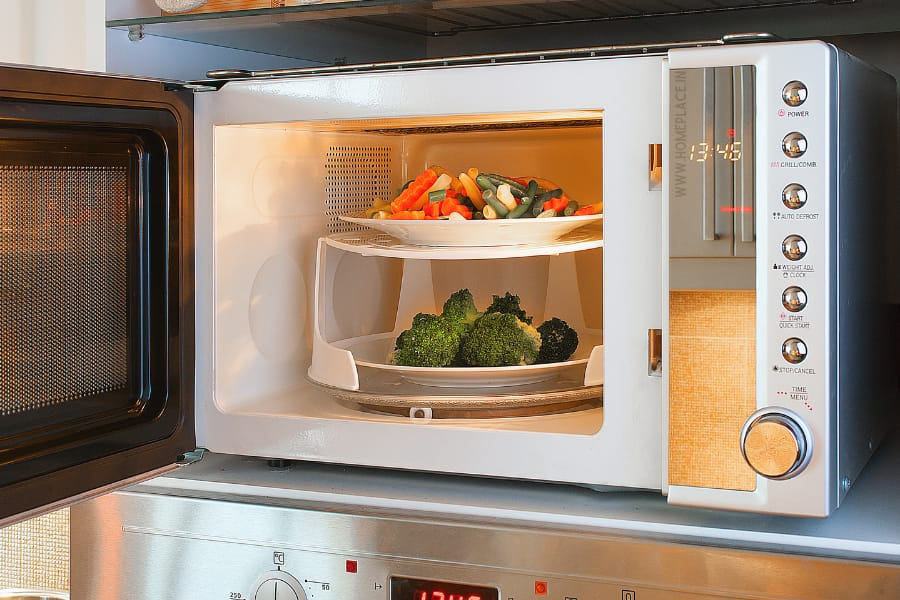 uses of convection microwave ovens